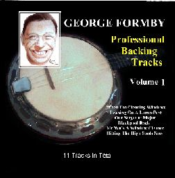 George Formby backing tracks on CD
